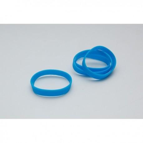 Bracelet silicone Taille adulte BLEU CLAIR 801C